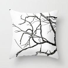 Broken sky Throw Pillow