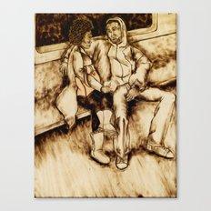 Talking Canvas Print