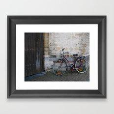 Going Somewhere? Framed Art Print