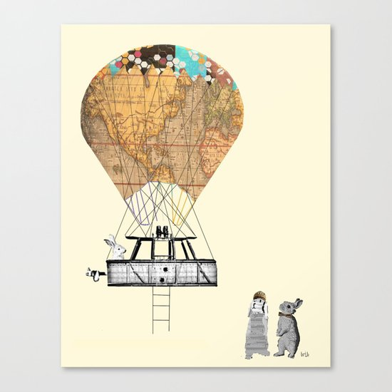 Adventure days  Canvas Print