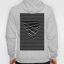 Line Complex Dark Triangle Hoody