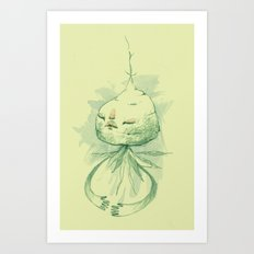 vegetation meditation Art Print