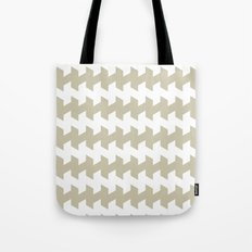 jaggered and staggered in tidal foam Tote Bag