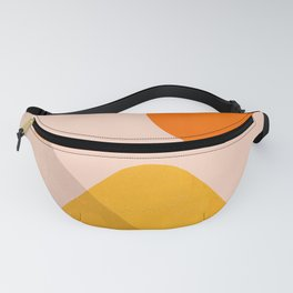 Abstraction_Mountains_02 Fanny Pack