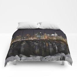 On the Edge Comforters