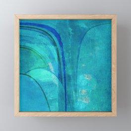 Mergulho em Ipanema Framed Mini Art Print