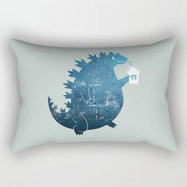 Godzillatte Rectangular Pillow