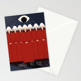 Under His Eye Stationery Cards