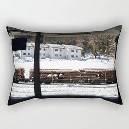 Platform. Rectangular Pillow