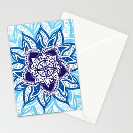 Atlantean Voyage Blue Stationery Cards