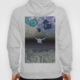 A Skydiver Between Two Parallel Universes Hoody