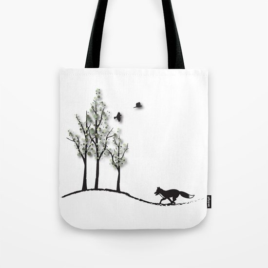 Fantasy Trees No. 2 Tote Bag
