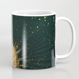 Abstract Dark Sphere Coffee Mug