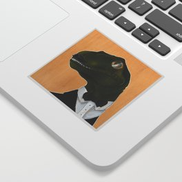 Dapper Velociraptor Sticker