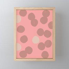 DOTS II Framed Mini Art Print