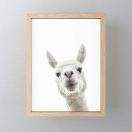 Llama 03 Framed Mini Art Print