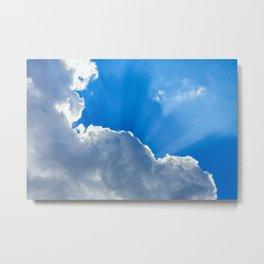Cumulonimbus Clouds 12 Metal Print