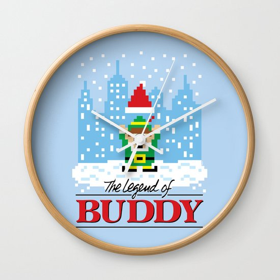 The Legend of Buddy Wall Clock