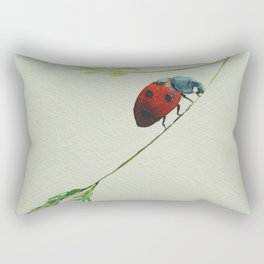 Lady Bug Rectangular Pillow