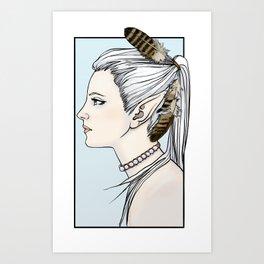 Erethil, Elven Ranger Art Print