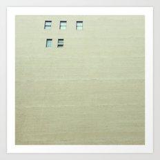 cinco Art Print