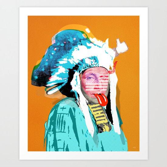 Indian Pop 95 Art Print