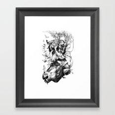 Destructive Creation Framed Art Print