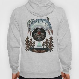 Fleeting Full Moon Hoody