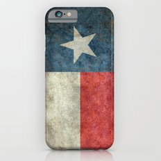Texas state flag, Vintage banner version Slim Case iPhone 6s