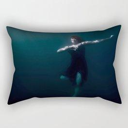 Dancing Under The Water Rectangular Pillow