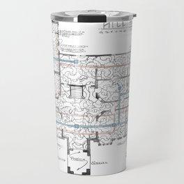 Haunting of Hill House Blueprint Travel Mug