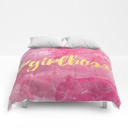 #GIRLBOSS Comforters