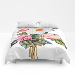 Loose Spring Bouquet Comforters
