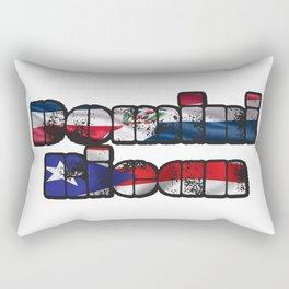 DominiRican Rectangular Pillow