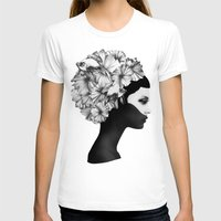 illustration T-shirts featuring Marianna by Ruben Ireland