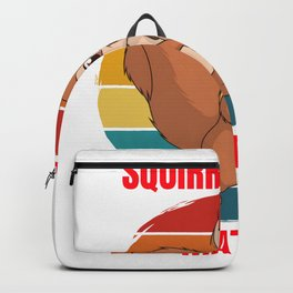 squirrel for people who like squirrels and chipmunks  Backpack