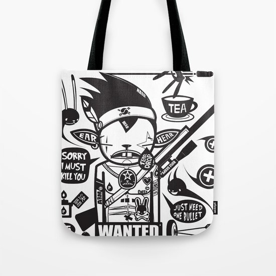 SORRY I MUST KILL YOU ! - DUEL Tote Bag