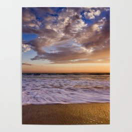 Surf City Sunsets   9/9/15   Huntington Beach California Poster