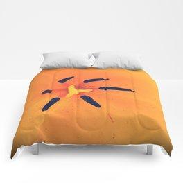 Yellow Tulip Comforters