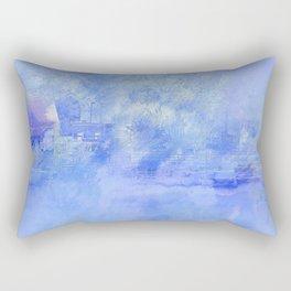 Hometown Celle in blue Rectangular Pillow