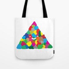 happy colour triangle Tote Bag