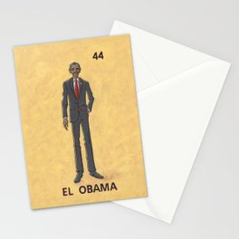 EL OBAMA Stationery Cards