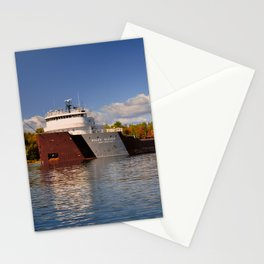 Roger Blough freighter in the Fall Stationery Cards