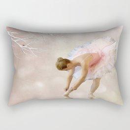 Dancer in Water Rectangular Pillow