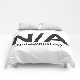 N/A (Not-Available) Comforters