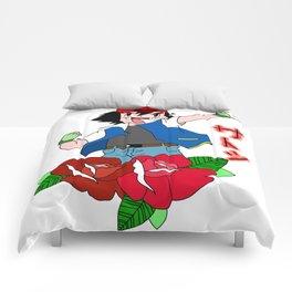Ash Ketchum Comforters