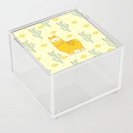 Alpaca summer Acrylic Box