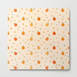 AFE Orange pattern  Metal Print