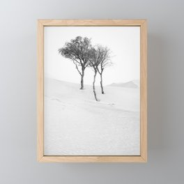 Desert Trees Framed Mini Art Print