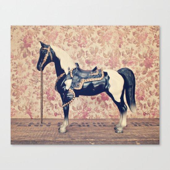 Vintage Horse  Canvas Print